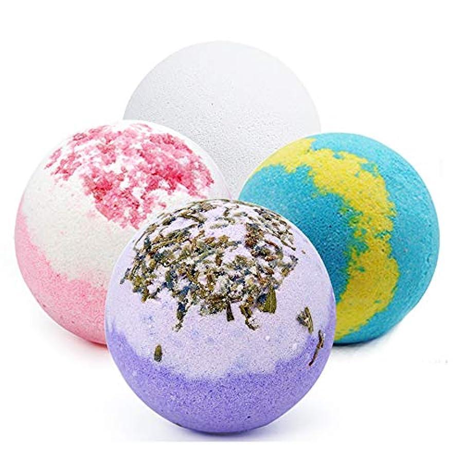 瞑想的うまビタミンバスボム 入浴剤 炭酸 バスボール 6つの香り 手作り 入浴料 うるおいプラス お風呂用 入浴剤 ギフトセット4枚 プレゼント最適