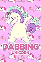 Dabbing Unicorn: Unicorn Graph Notebook | Back To School Student Kids Rainbow Magical Quad Ruled 5 Squares Per Inch (Notebooks For Students)