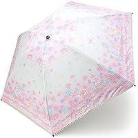 マイメロディ 晴雨兼用UVキャンバスパラソル(折りたたみ日傘)