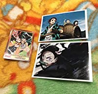 鬼滅の刃 ufotableCafe アニメイト ブロマイド カード 3種セット