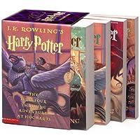 Harry Potter Boxed Set (US) (Paperback Book 1-4)