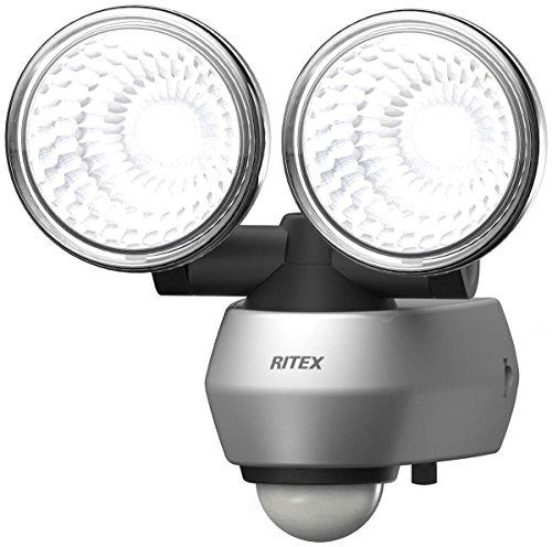 ライテックス 10W×2灯 LEDセンサーライト LED-AC2020