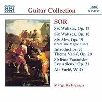 Guitar Music Opp 17-21 by FERNANDO SOR (1999-03-23)
