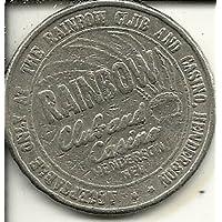 レインボークラブカジノトークンコイン1ドルHenderson Nevada Obsolete