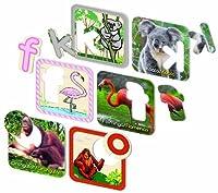 Ingenio Zafari Animal Alphabet Puzzle (English And Spanish) [並行輸入品]