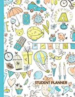 Student Planner: Stylish 2019-2020 Back to School Student Academic School Planner for Girls to Track Class Schedules, Assignments