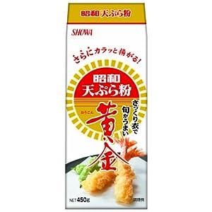 昭和 天ぷら粉 黄金 450g