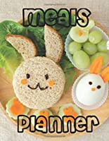 "Meal Planner,: Food Journal For Kids. Plan For 55 Weeks w/Shopping List Journal, A4 Book (112 Plate Pattern Pages, Trim Size 8.5"" x 11"" Inches)"