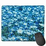 TOTOPM マウスパッド 滑り良い 滑り止め 耐摩耗性 おしゃれ 満開のネモフィラ 水洗い PC ラップトップ オフィス用 ゲーム向け レーザー&光学式マウス対応 250*300 *3mm (抗菌性・静電特性に優れています)