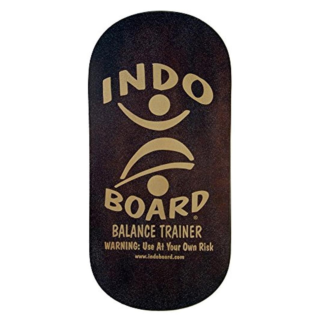 妊娠した避けられない本体INDO BOARD(インドボード) バランスボード INDO ROCKER ボード単品 ブラウン