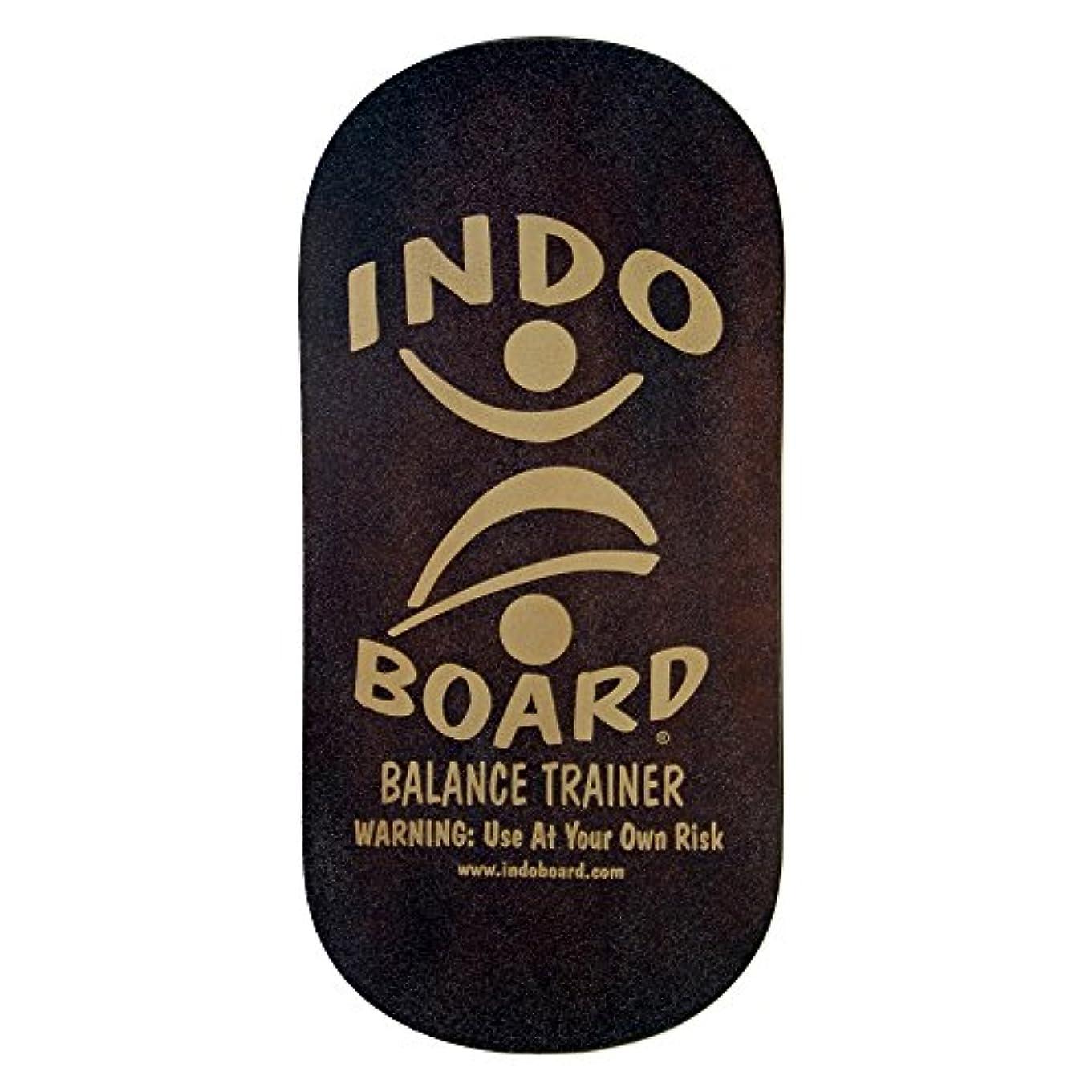豊富財団行うINDO BOARD(インドボード) バランスボード INDO ROCKER ボード単品 ブラウン