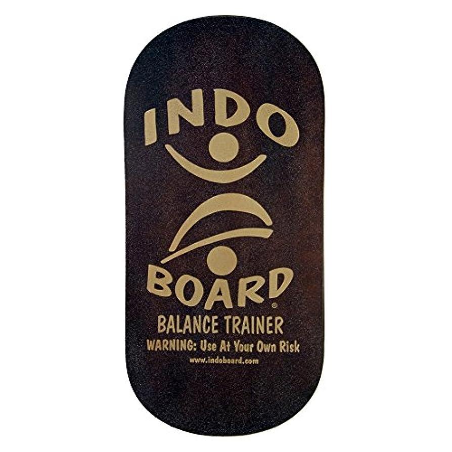復讐アイザックジャンプINDO BOARD(インドボード) バランスボード INDO ROCKER ボード単品 ブラウン