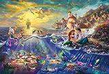西洋絵画 ディズニー リトル・マーメイド LITTLE MERMAID トーマスキンケード [並行輸入品]