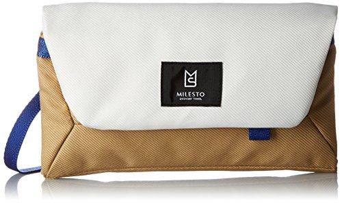 [ミレスト] トラベルオーガナイザー Hutte 2WAY 立体縫製 テフロン加工 コーデュラ MLS466-WH WH ホワイト