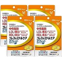 【4個セット】コレス&ミドルケア タブレットW 28粒(機能性表示食品)