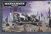 Cadian Command Squad Plastic Warhammer 40K by Games Workshop [並行輸入品]