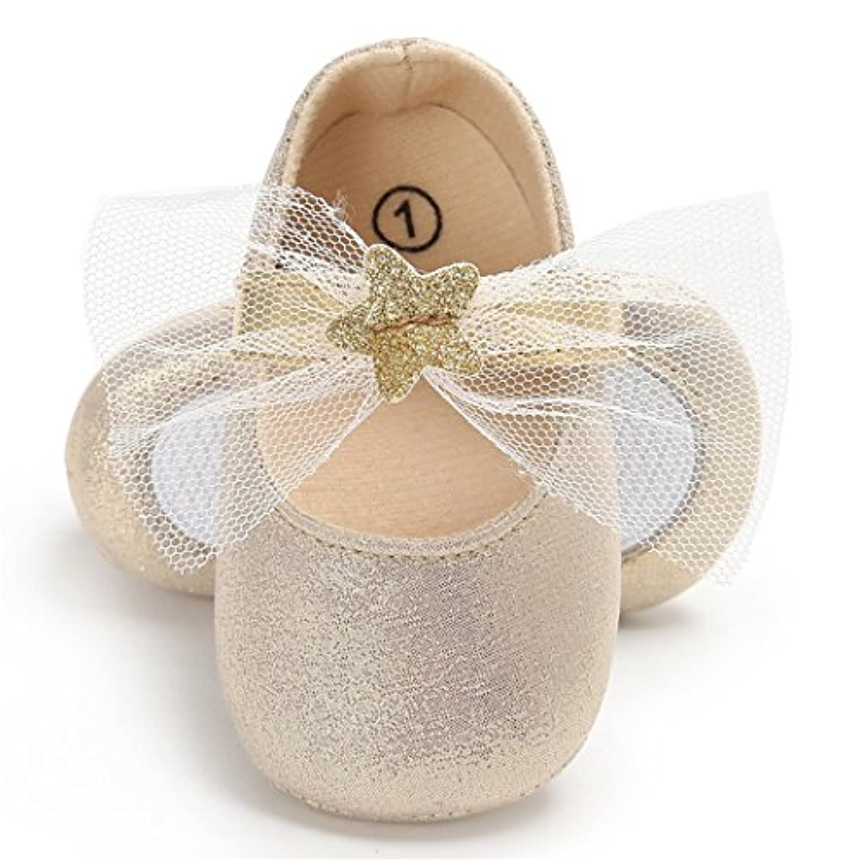 WIN フォーマルベビーシューズ 子供靴 女の子 ファーストシューズ 出産祝い蝶結び 女の子 ファーストシューズ プリンセス 歩行練習