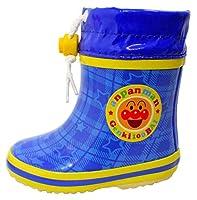 [それいけ! アンパンマン] アンパンマン ベビー・キッズブーツ (防寒長靴) AN-653 (15, ブルー)