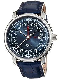 [ツェッペリン]ZEPPELIN 腕時計 100周年 ネイビー文字盤 76463 メンズ 【正規輸入品】