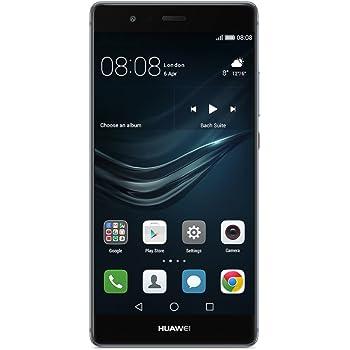 HUAWEI P9 SIMフリースマートフォン (ブルー)