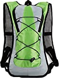 OptiMus サイクリングバッグ ランニングバッグ スポーツバッグ リュックサック 超軽量 ランニング ウォーキング 登山 ハイキング アウトドア (グリーン)
