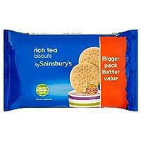 Sainsbury's Rich Tea Biscuits 400g - (Sainsbury's) 豊かな紅茶ビスケット400グラム [並行輸入品]