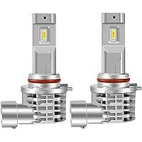 HB3 led ハイビーム ヘッドライト 一体型 ファンレス HB3 9005 LED バルブ CREEチップ搭載 65…