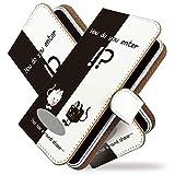 [KEIO ブランド 正規品] AQUOS PHONE SERIE ISW16SH ケース 手帳型 ネコ ISW16SH 手帳型ケース ねこ AQUOS カバー PHONE カバー SERIE カバー ISW16SH 猫 猫柄 アクオス ケース アクオスフォンセリエ ケース セリエ ケース ISW ケース 16 ケース SH ネコ柄 動物 ittnキュービーズー白黒t0060