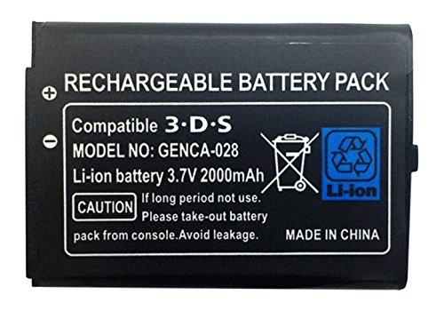 BlueSea 大容量バッテリーパック(2000mAh) ニンテンドー 3DS対応 簡易包装品 BS...