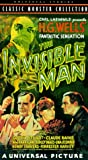 The Invisible Man [VHS] [Import]