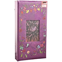 (Purple-birds) - Arpan 6x4 Designer Photo Album with 300 Pockets (Purple-Birds)