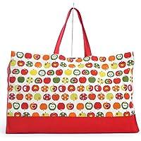 お昼寝布団バッグ  おしゃれリンゴのひみつ(アイボリー) N1000800