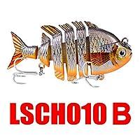 attachmenttou人工的なプラスチック釣魅惑的なAbs釣餌\ポータブル人工餌多関節餌海釣りフック釣りギアロック釣りホットスタンプ耐久性