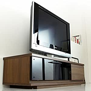 テレビ台 完成品 幅120cm ローボード 国産 GOD-ゴッド- ウォールナット 01070307 WN