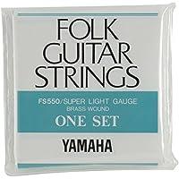 ヤマハ YAMAHA スーパーライトゲージ フォークギター用セット弦 FS550