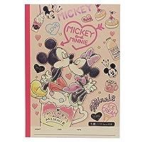 ミッキー&ミニー[方眼ノート]B5学習ノート/2018年新入学 ディズニー