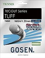 GOSEN(ゴーセン) テックガット タフ 16 TECGUT TUFF 16 TS620W 1805 【メンズ】【レディース】 W.ホワイト -