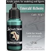 ScaleColor - Acrylic paint - METAL'N ALCHEMY Emerald Alchemy - SC-69 17ml bottle