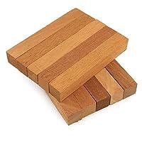"""Legacy Woodturning、マホガニー木製ペン空白、3/ 4"""" x 3/ 4"""" x 5インチ、1つまたは複数パック 10 Pack LWT-WPB-MAHG-34x5_10PK"""