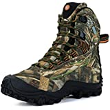 Manfen Women's Hiking Boots Lightweight Waterproof Hunting Boots, Ankle Support, High-Traction Grip