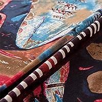 長方形の綿とリネンテーブルクロスファミリーレストランホテル装飾テーブルリネン (Size : 120*120cm)