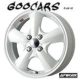 ワーク 4本セット Goocars 15 x 5.0J 46 4H 100 ホワイト