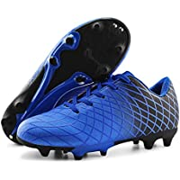 JABASIC Kids Soccer Cleats Athletic Football Shoes