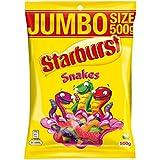 Starburst Snakes Jumbo Size Bag 500g
