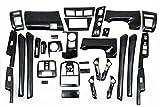 【G-Parts】トヨタ プリウスα 40 32pセット  インテリアパネル 黒木目 ブラック木目調  内装パネル 3D立体パネル ZV40 P40BK木