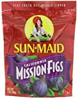 Sun Maid California Mission-Figs, 7-Ounce Pouches (Pack of 6) by Sun Maid