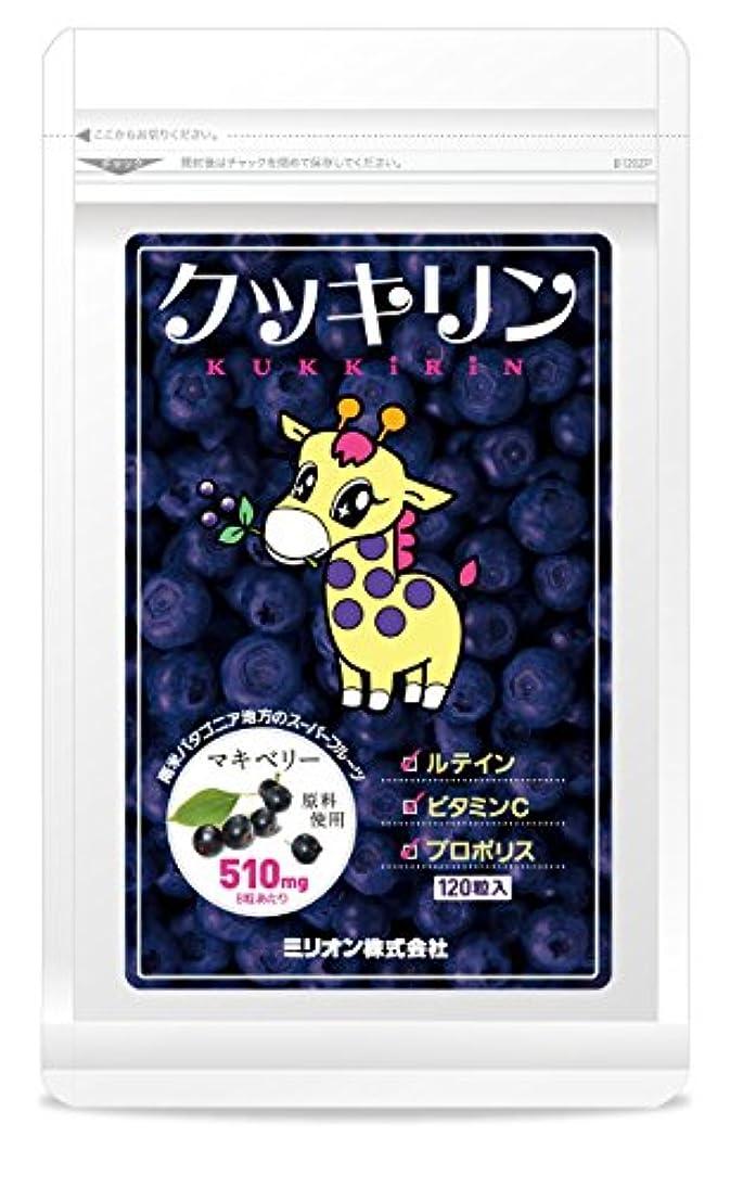 獲物北系譜クッキリン 120粒(マキベリーサプリ)×5袋セット