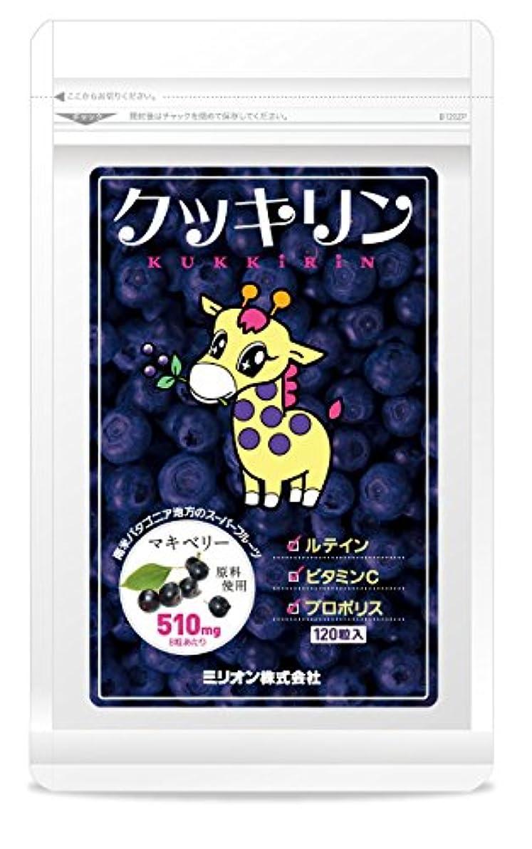 アグネスグレイピクニック団結クッキリン 120粒(マキベリーサプリ)×5袋セット