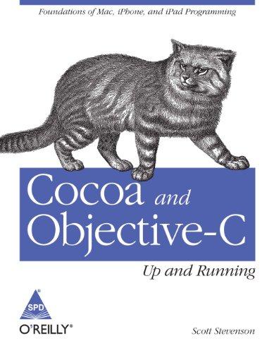 [画像:Cocoa and Objective-C : Up and Running [Paperback]]