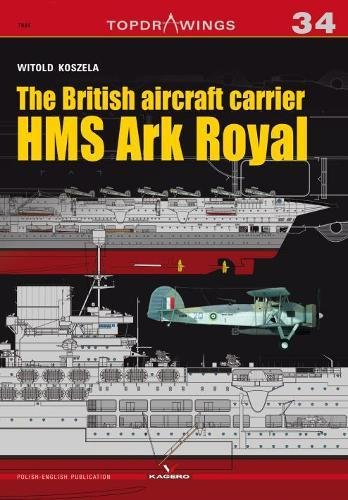 The British aircraft carrier HMS Ark Royal (Topdrawings)